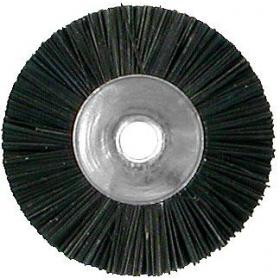 Šepetėlis šerinis su laikikliu kietas, 23 mm