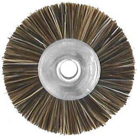 Šepetėlis šerinis su laikikliu vidutinio minkštumo, 23 mm