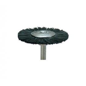 Šepetėlis šerinis su laikikliu, kietas, 19 mm