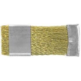 Metalinis šepetukas grąžtams valyti, 70x28 mm