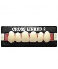 2-iejų sluoksnių Cross-linked dantys