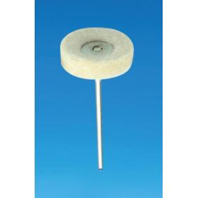 Filcas diskas su laikikliu, 22 mm