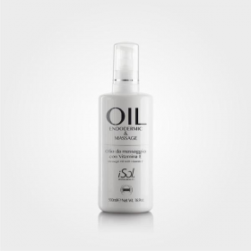 ISOL Aliejus endoderminiam masažui su vit. E, Oil For Endodermic Treatment, 500 ml