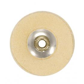 Šepetėlis odinis su laikikliu, 22 mm