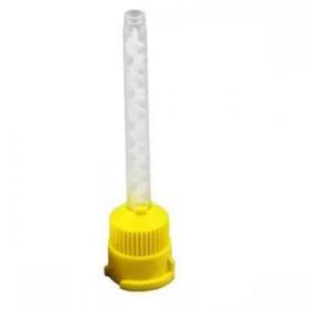 Maišymo antgaliukas A silikonams maišyti, geltonas, 1 vnt.