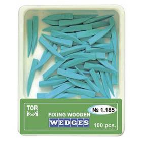 Mediniai kaiščiai mėlyni, M dydis, 100 vnt.