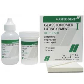 Stiklo jonomerinis cementas, 50 g + 55 ml