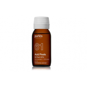 Purles 61 Cheminis pilingas M-Peel 40 %, 100 ml