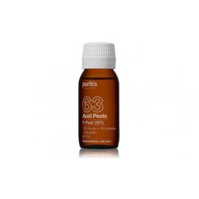 Purles 63 Cheminis pilingas F-Peel 20 %, 60 ml