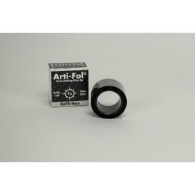 Artikuliacinė folija 8 µm plastikinė juoda, papildymas, 20 m