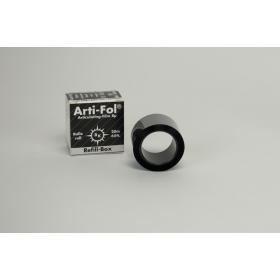 Artikuliacinė folija 8 µm plastikinė juoda/juoda, papildymas, 20 m