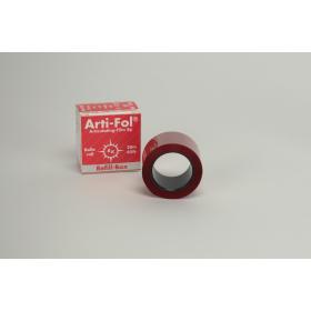 Artikuliacinė folija 8 µm plastikinė raudona, papildymas, 20 m