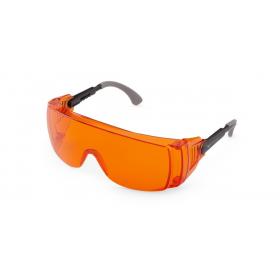 Apsauginiai akiniai helio lempai ant akinių Monoart Light