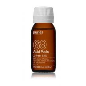 Purles 69 Cheminis pilingas X-Peel 63 %, 50 ml