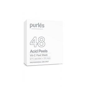 Purles 48 VIT-C pilingo kaukė, 5 x10 ml