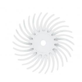 Šepetėlis Bellfix poliamidinis su laikikliu vidutinio grubumo, 19 mm