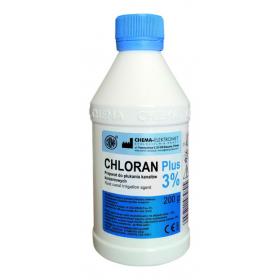 Skystis šaknies kanalų praplovimui Chloran Plus 3%, 200 g