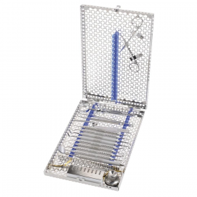 Kasetė DIN instrumentams sterilizuoti
