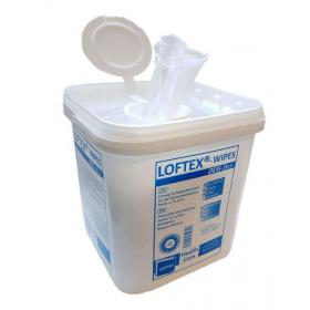 Sausos servetėlės 30x25 cm paviršių dezinfekcijai su dozatoriumi