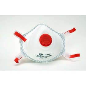 Respiratorius kaukė FFP3 su vožtuvu