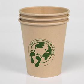 Ekologiški vienkartiniai Bio puodeliai, 50 vnt.