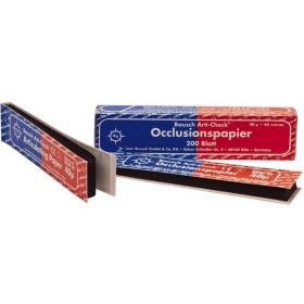 Artikuliacinis popierius 40 µ raudonas-mėlynas, 200 vnt.