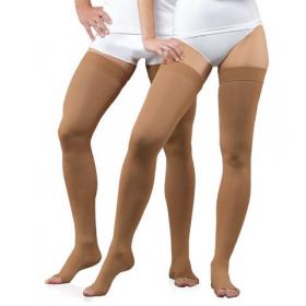 Medicininės tampriosios kompresinės kojinės ilgos, nedengiančios pirštų, universalios, ELAST 0403 LUX