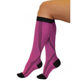 Medicininės tampriosios kompresinės kojinės iki kelių, universalios, I kompresijos klasė (18-21 mm Hg), ELAST 0401 Activ