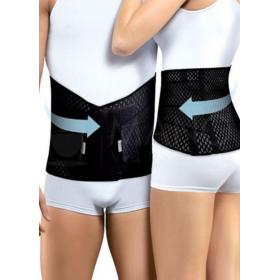 Tamprusis medicininis diržas juosmeninės stuburo dalies fiksacijai, su standžiais įdėklais ir spaudimą normalizuojančiomis juostomis, TONUS 0012-01 Air
