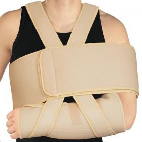 Medicininis prilaikomasis raištis rankai fiksuoti, sustiprintas (Dezo tipo tvarstis), ELAST 0110-01