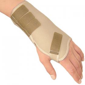 Tamprusis medicininis riešo sąnario tvarstis su standžiu įdėklu, ELAST 0210