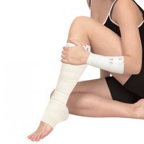 Elastic medical bandage ribbon compressive, medium stretch, length 3.0 m, width 80 mm, ELAST 9512