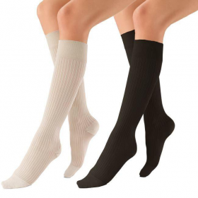Medicininės tampriosios kompresinės kojinės iki kelių, dengiančios pirštus, I (15-20 mmHg) kompresijos klasė, JOBSTsoSoft