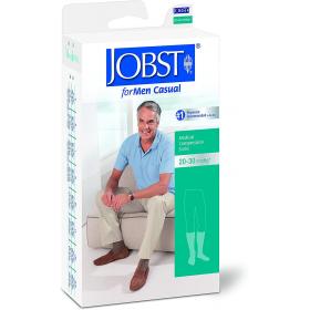 Medicininės tampriosios kompresinės kojinės vyrams iki kelių, dengiančios pirštus, JOBST for Men Casual