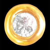 Dantų papuošalas Round Diamond