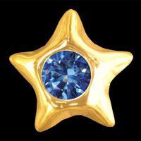 Dantų papuošalas Star Sapphire
