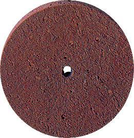 Poliravimo diskas guminis su deimantu be kotelio švelnus, 22x3 mm