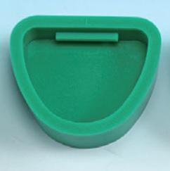 Forma modeliui guminė griovelio tipo L